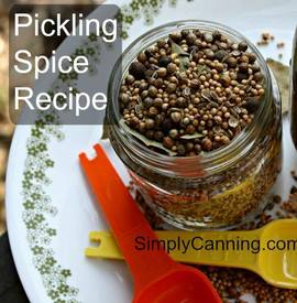 Pickling Spice Recipe!