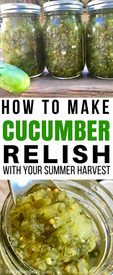Easy Homemade Pickle Relish!