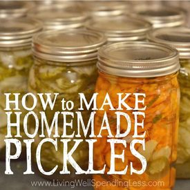 How To Make Homemade Pickles!