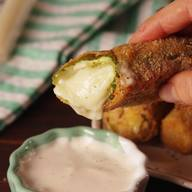 Pickle Mozzarella Sticks!