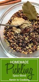Homemade Pickling Spice Blend!