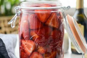 Pickled Strawberries!
