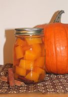 Spiced Pickled Sugar Pumpkin!
