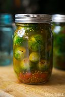 Pickled Brussels Sprouts!