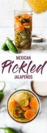 Mexican Pickled Jalapenos!