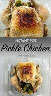 Instant Pot Pickle Chicken!