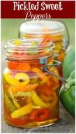 Pickled Sweet Peppers!